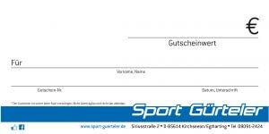 Guschein Sport Gürteler