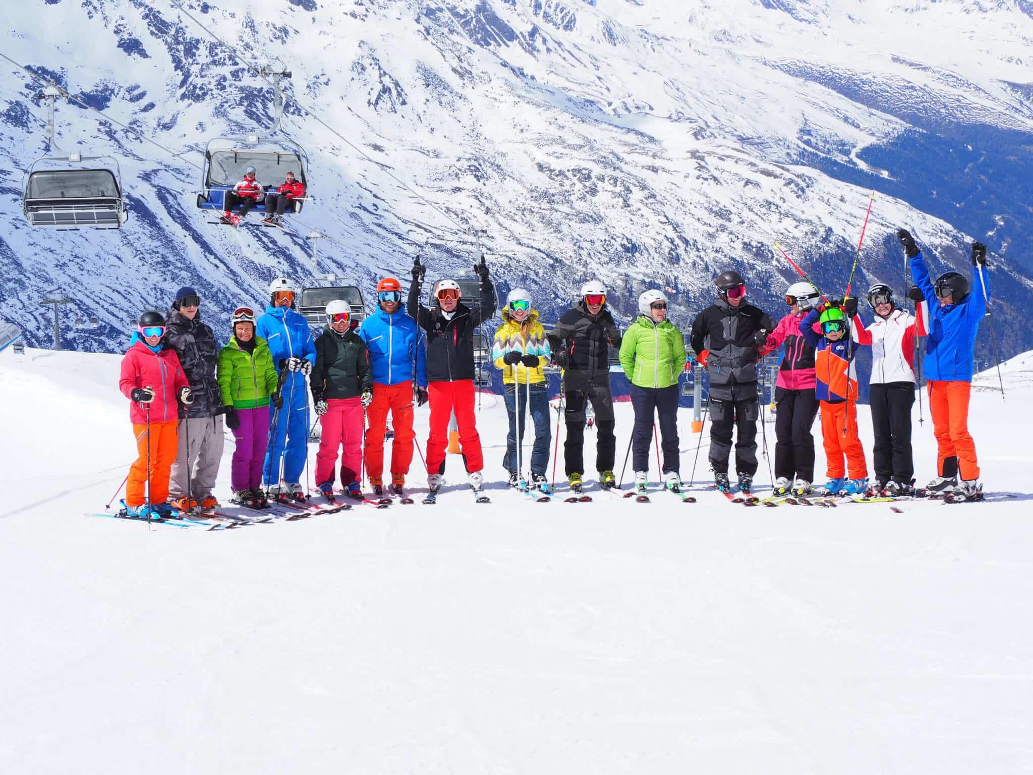 Skifahren, Sölden